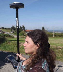 Juliette Bruyère, géomètre